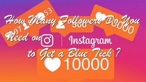 How Many Followers Do You Need on Instagram to Get a Blue Tick?